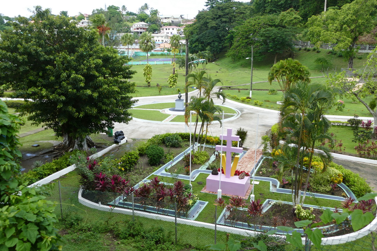 12. Castries, King George V gardens
