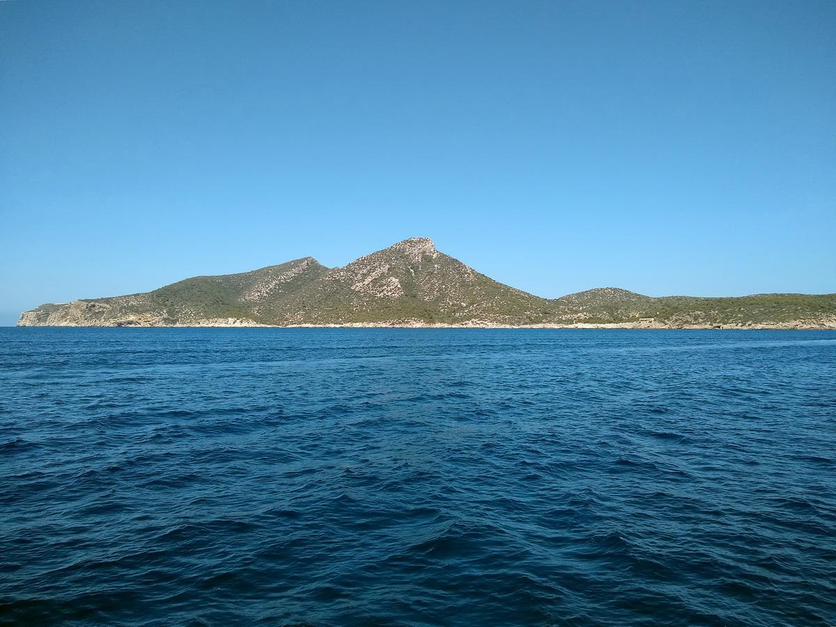12. L'île Dragonera au SW de Majorque