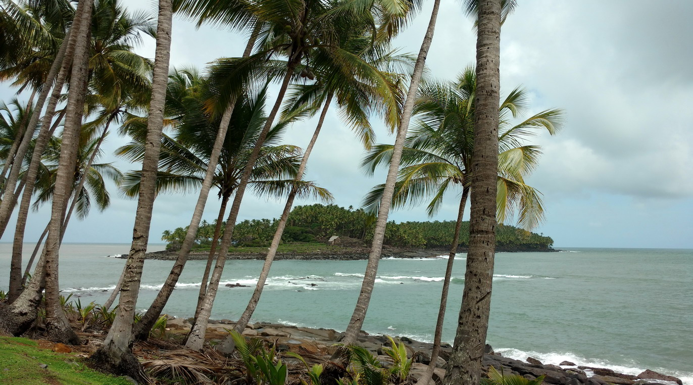 12. L'île du Diable avec la case de Dreyfus
