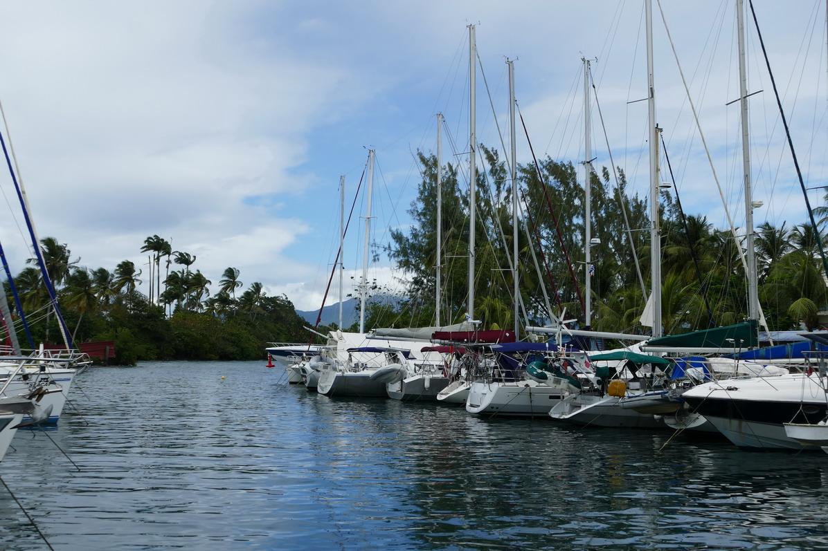 12. La marina de la Pointe du Bout