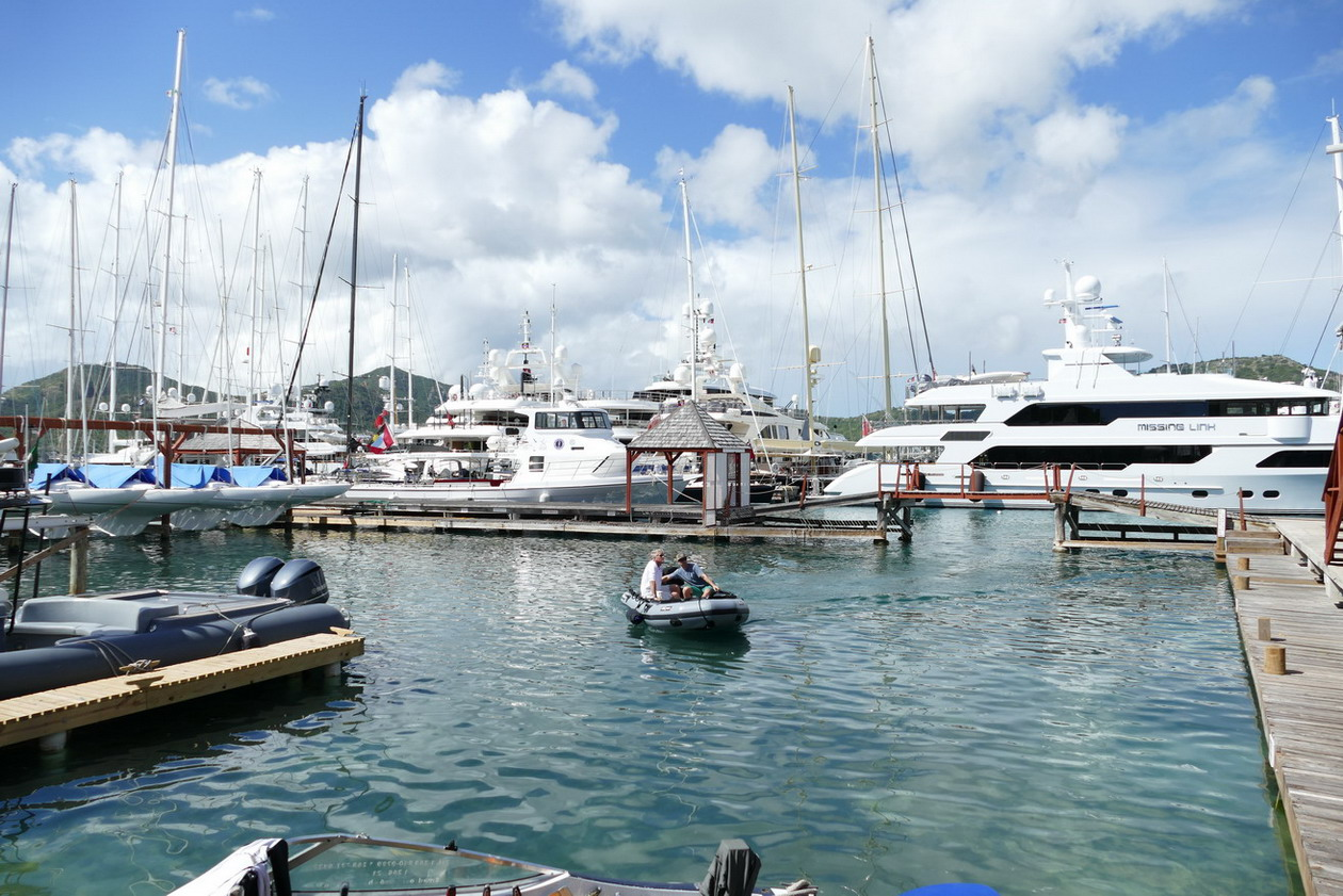14. Antigua, English harbour, Nelson's dockyard