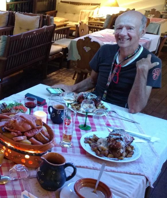 14. L'Alsace à St Pierre chez Philippe MEHN, choucroute royale et wadele au munster, pas tout pour le même !