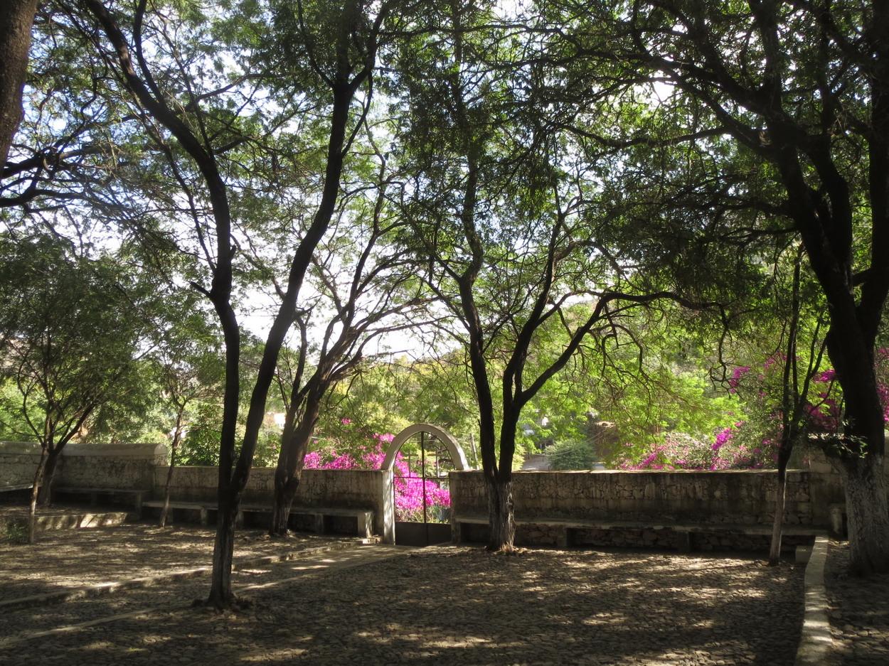 14. Santiago, l'église en plein air d'Assomada