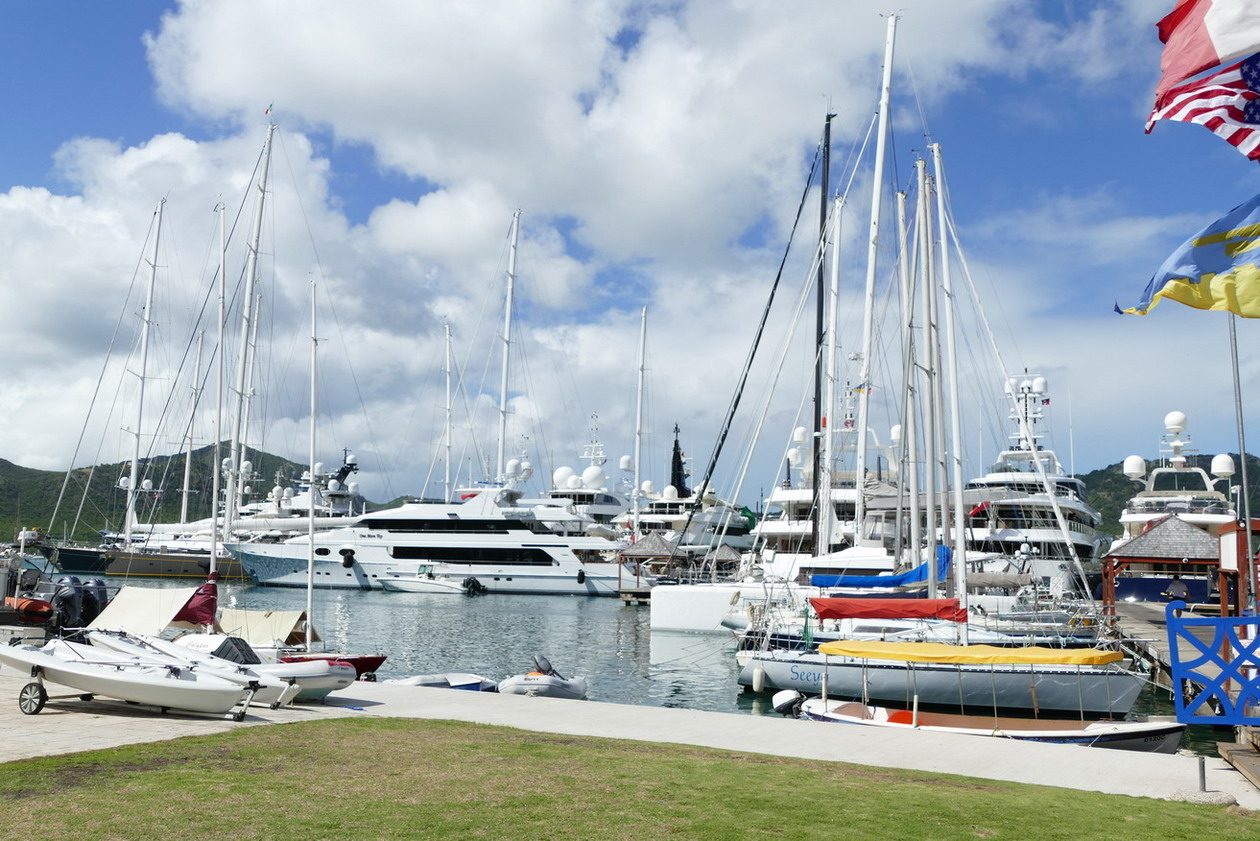 15. Antigua, English harbour, Nelson's dockyard