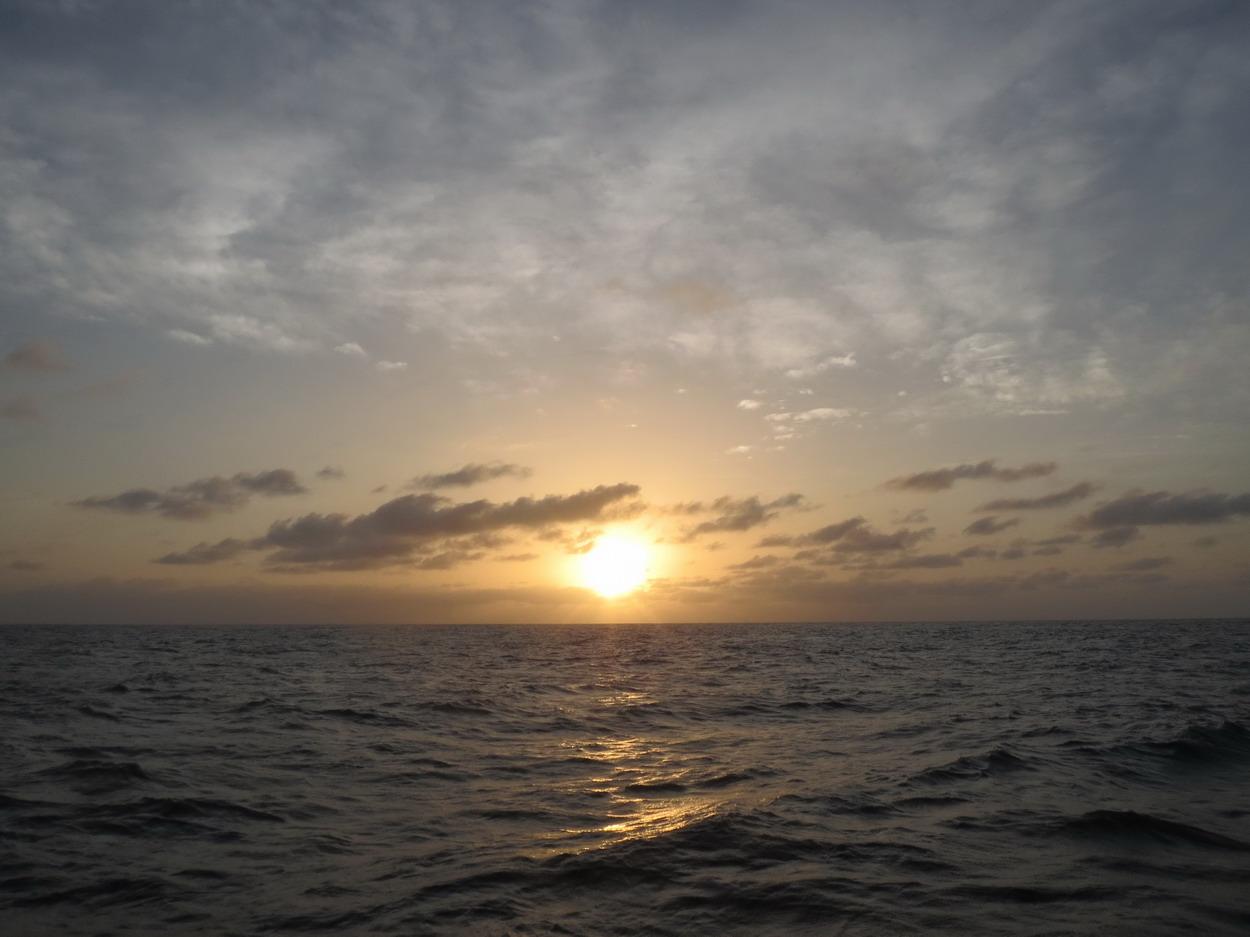 15.Coucher de soleil sur l'océan