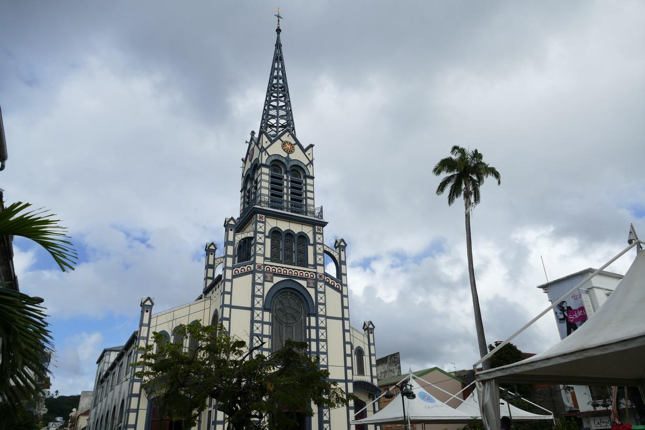 16. Fort-de-France ; la cathédrale