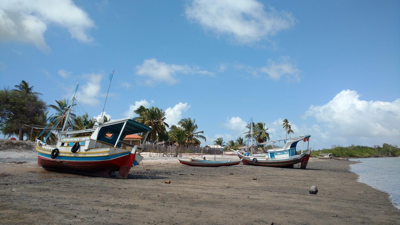 16. Le village de Bato Vento sur l'île de Maiao juste en face