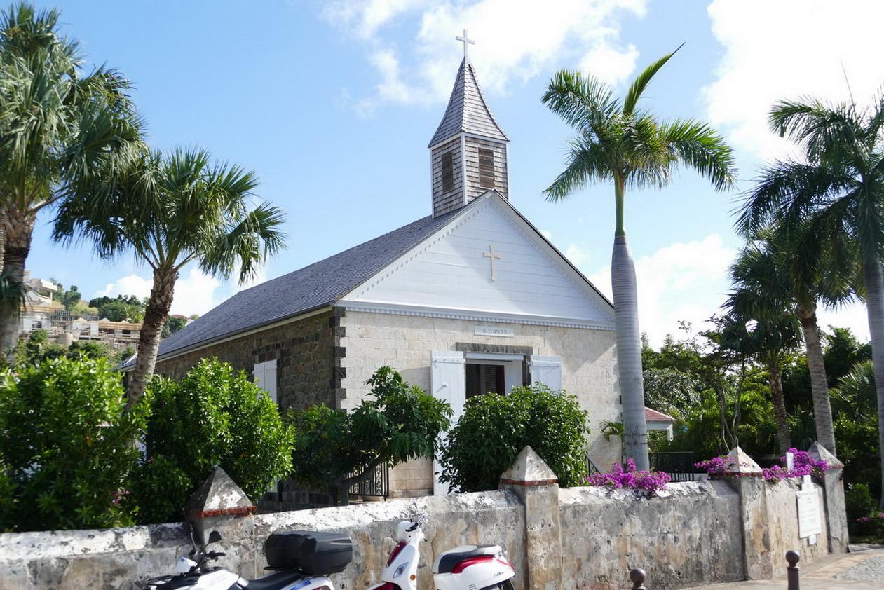 16. St Barth, Gustavia, l'église anglicane