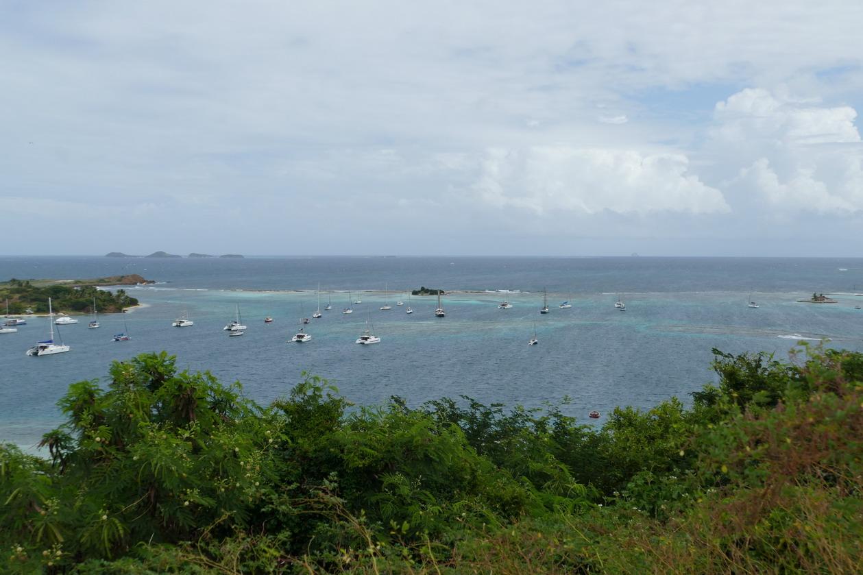 16. Union island, le lagon de Clifton harbour