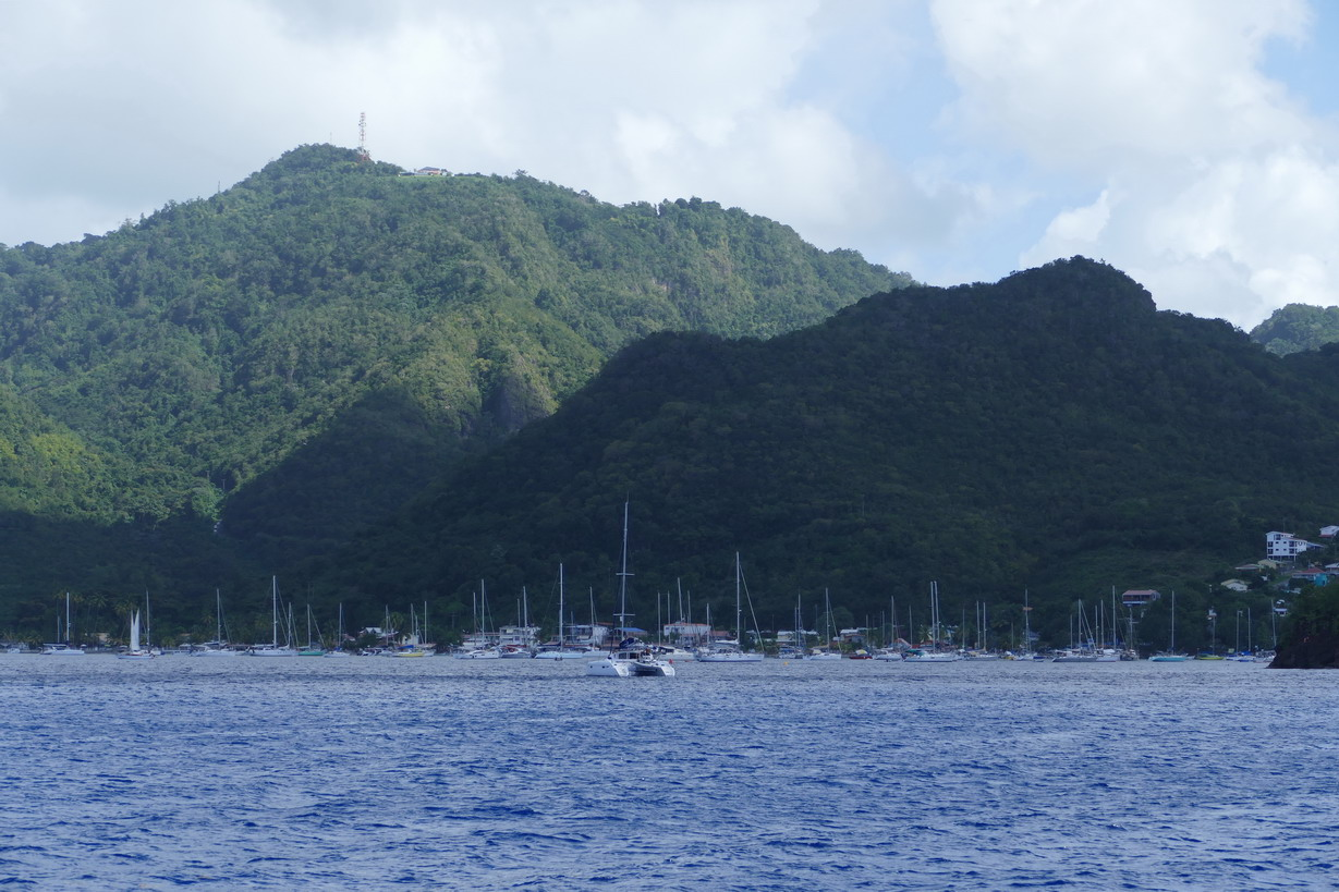 17. Grande Anse d'Arlet, c'est sur bouée et plein à craquer