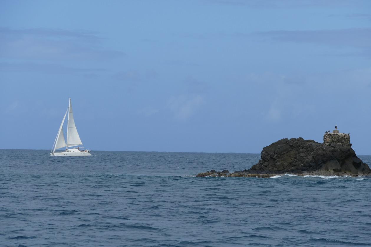 17. Islet Le Fourreur au SW de Rodney bay (sans doute, la fureur !)