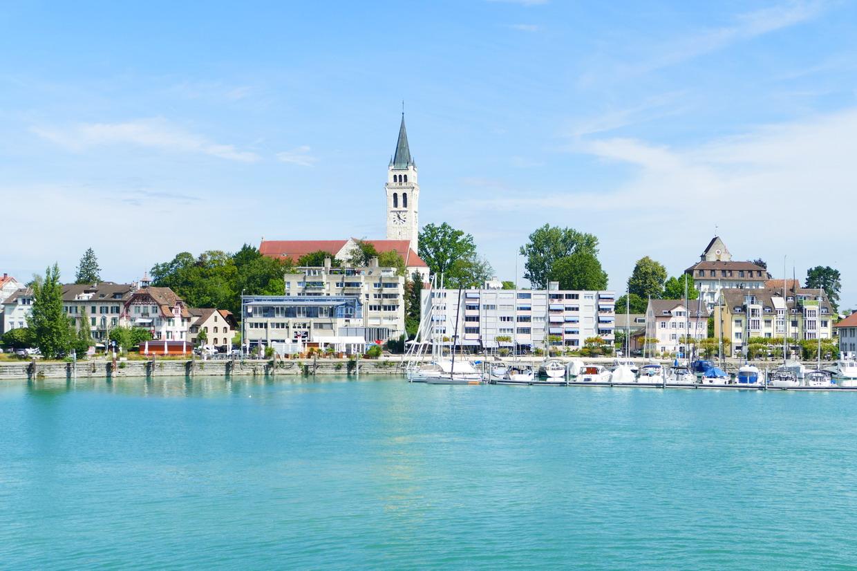 17. Le lac de Constance - rive sud, Romanshorn