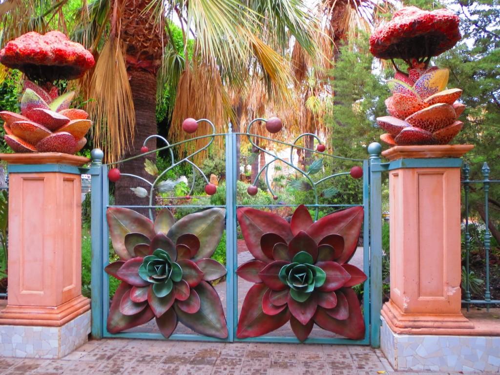 17. Los Llanos, le jardin botanique