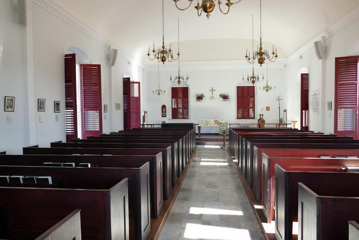 17. St Barth, Gustavia, l'église anglicane