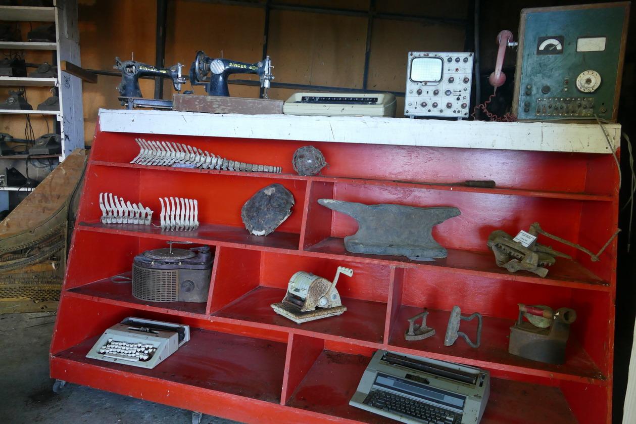 17. Wallilabou, le petit musée qui ressemble à une brocante