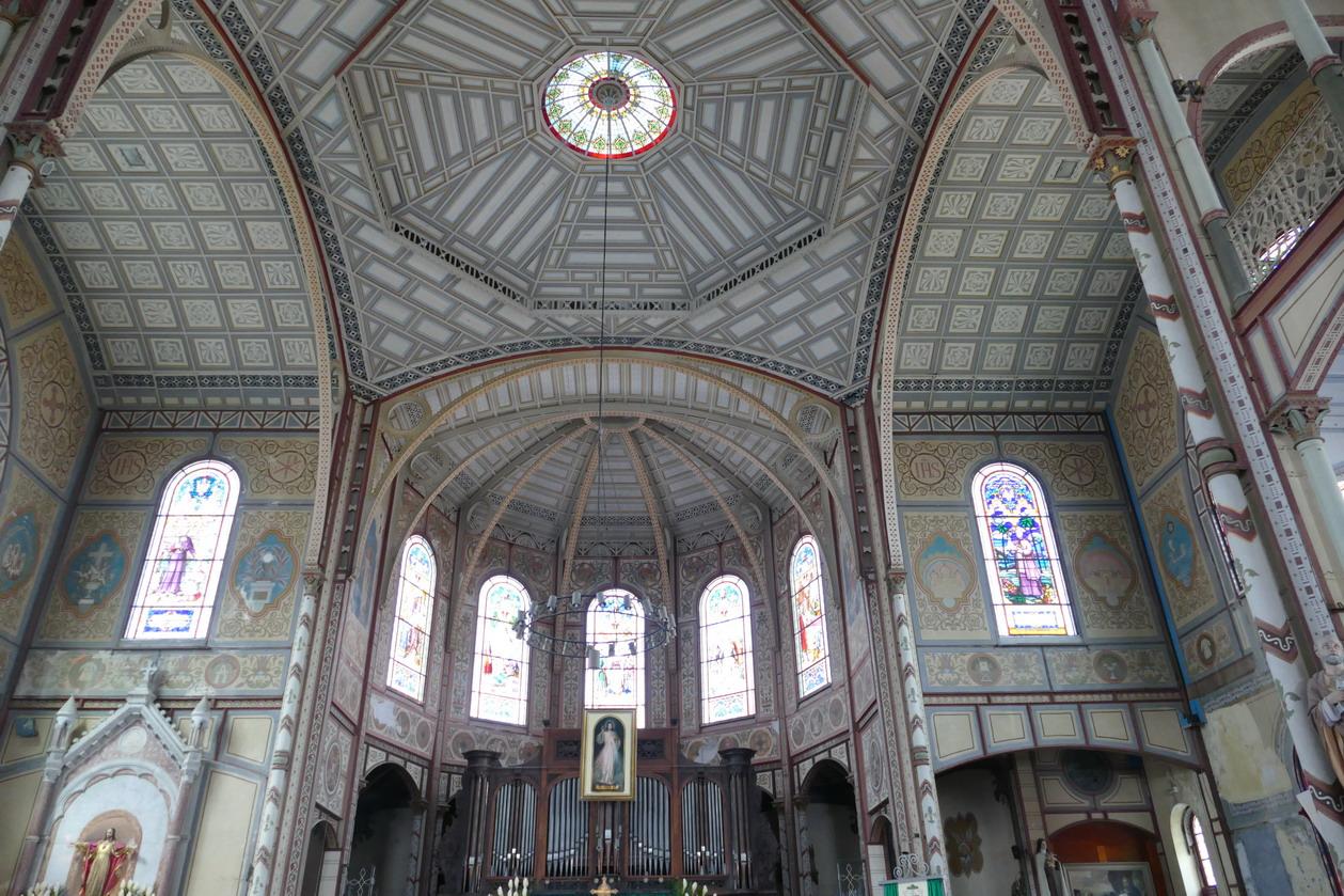 18. Fort-de-France ; la cathédrale