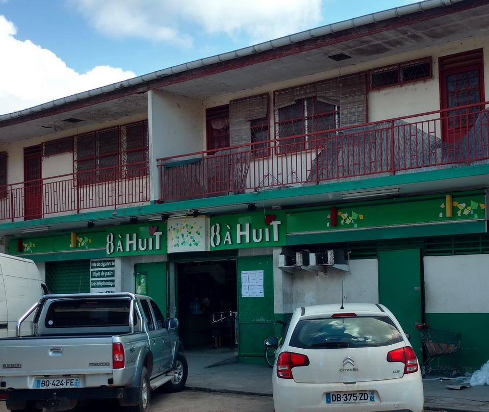 18. St Laurent du Maroni, notre magasin d'alimentation tenu, comme il se doit, par des Chinois