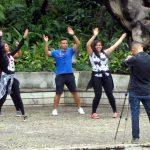 19. BH, parc municipal, la samba
