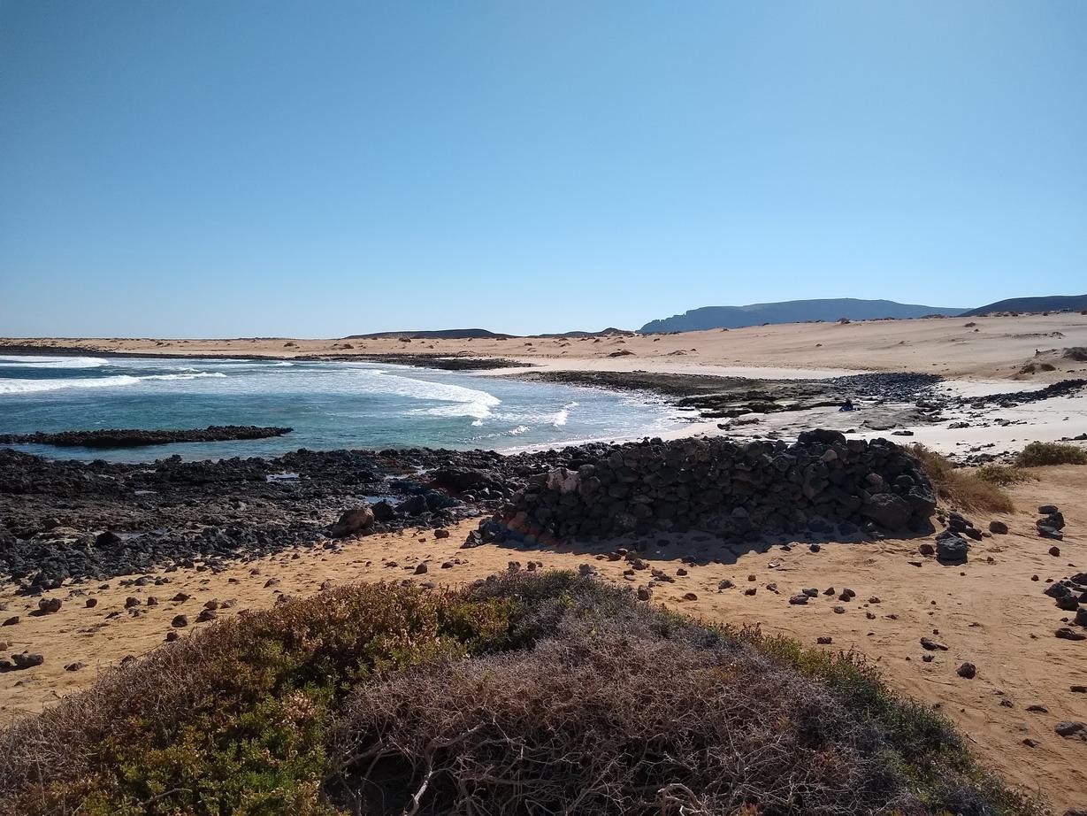 19. La Graciosa - la côte au nord