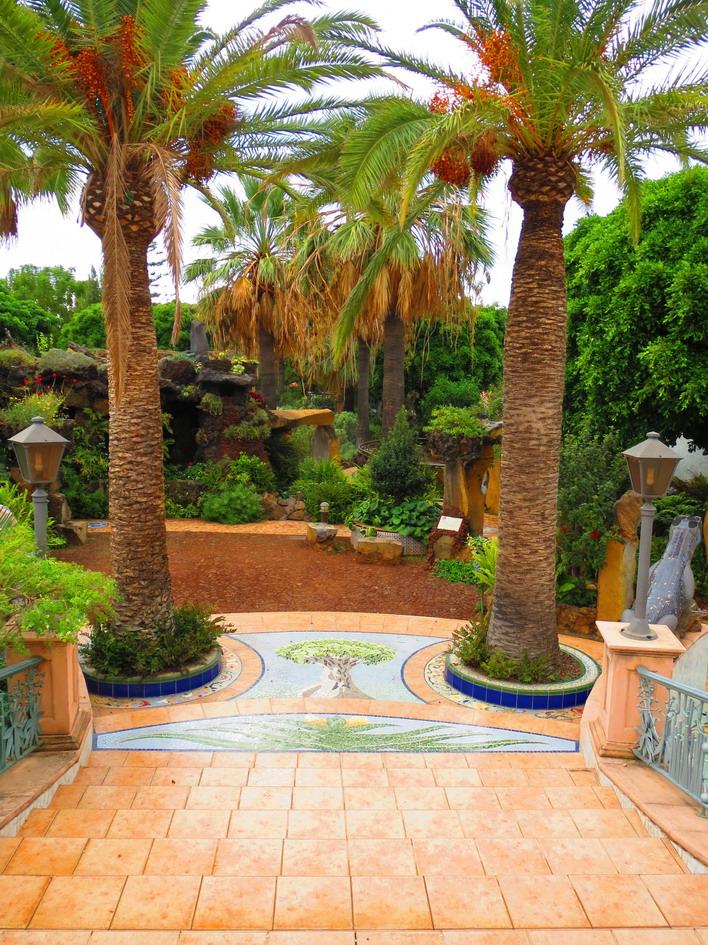 19. Los Llanos, le jardin botanique