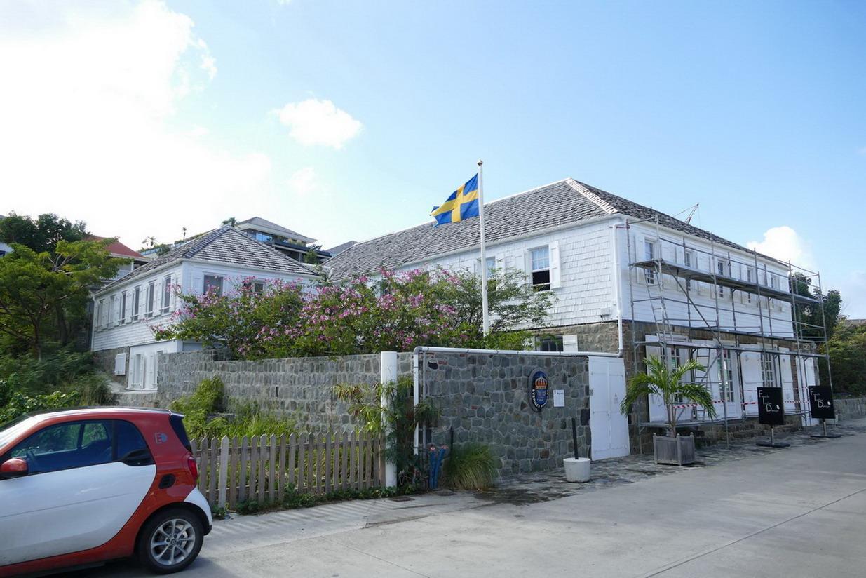 19. St Barth, Gustavia, la plus ancienne maison