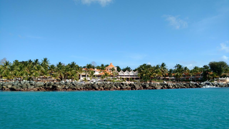 20. Coco reef, le resort en face de notre mouillage