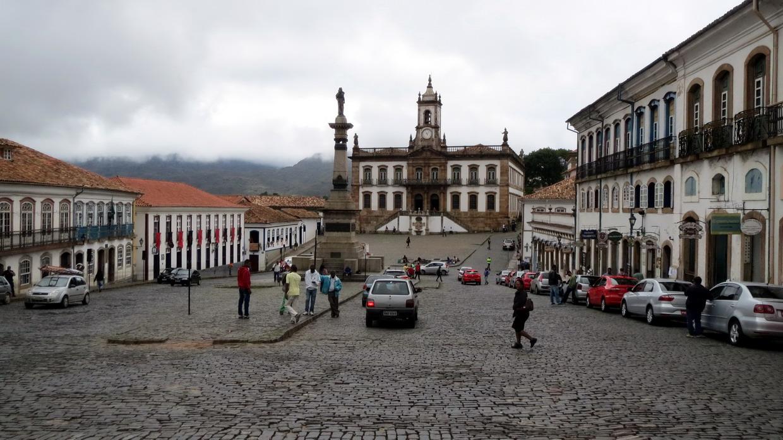 20. Place Tiradentes, le héros de l'indépendance brésilienne