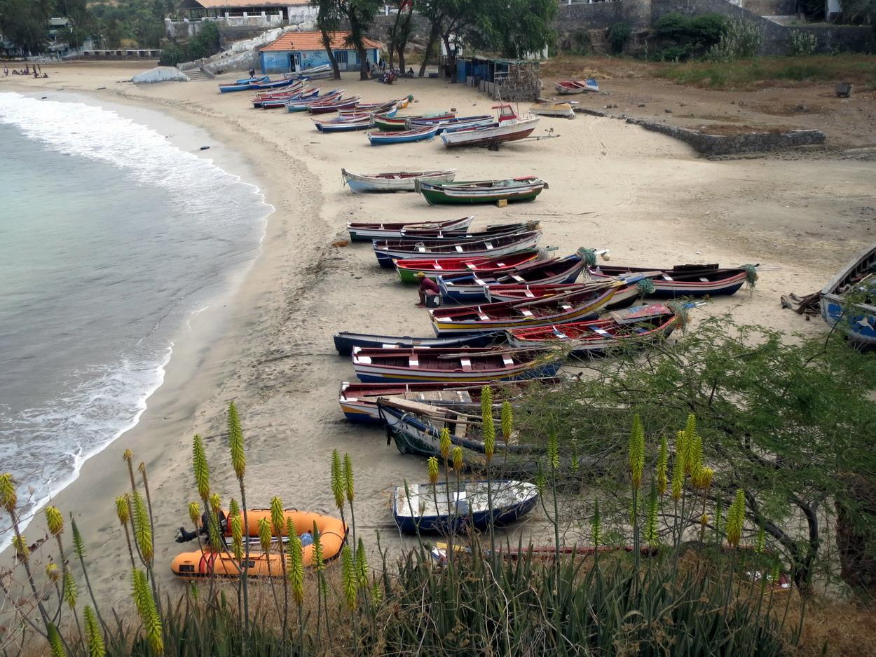 20. Santiago, plage de Tarrafal