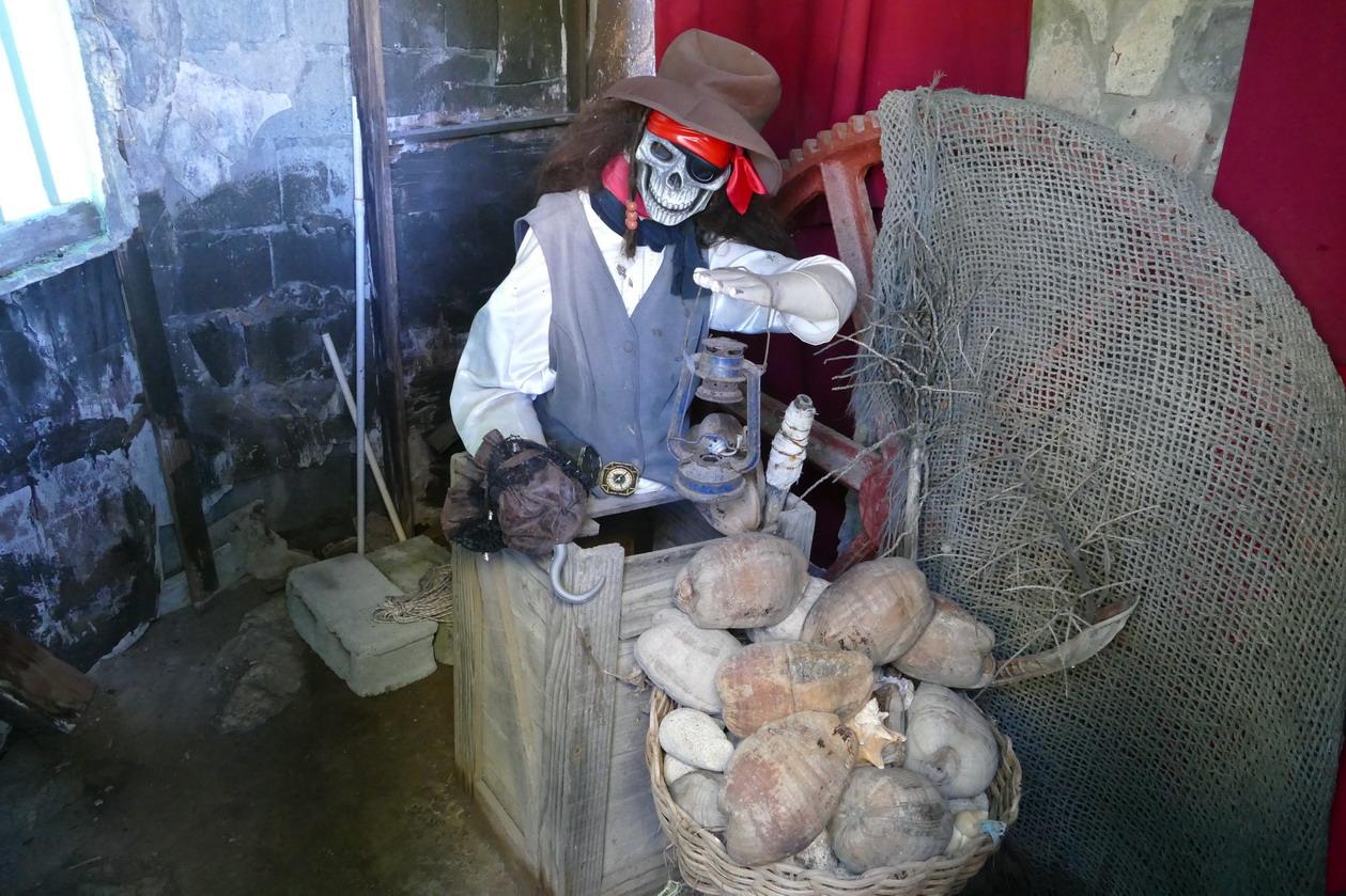 20. Wallilabou, reliques du tournage de Pirate des Caraïbes