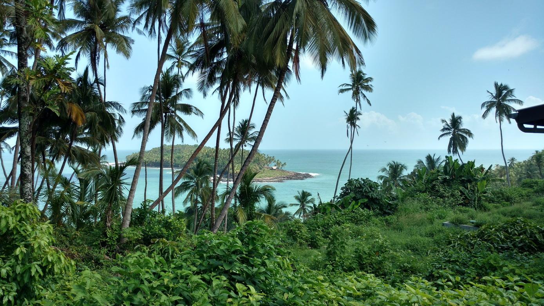 21. L'île du Diable vue de l'île Royale