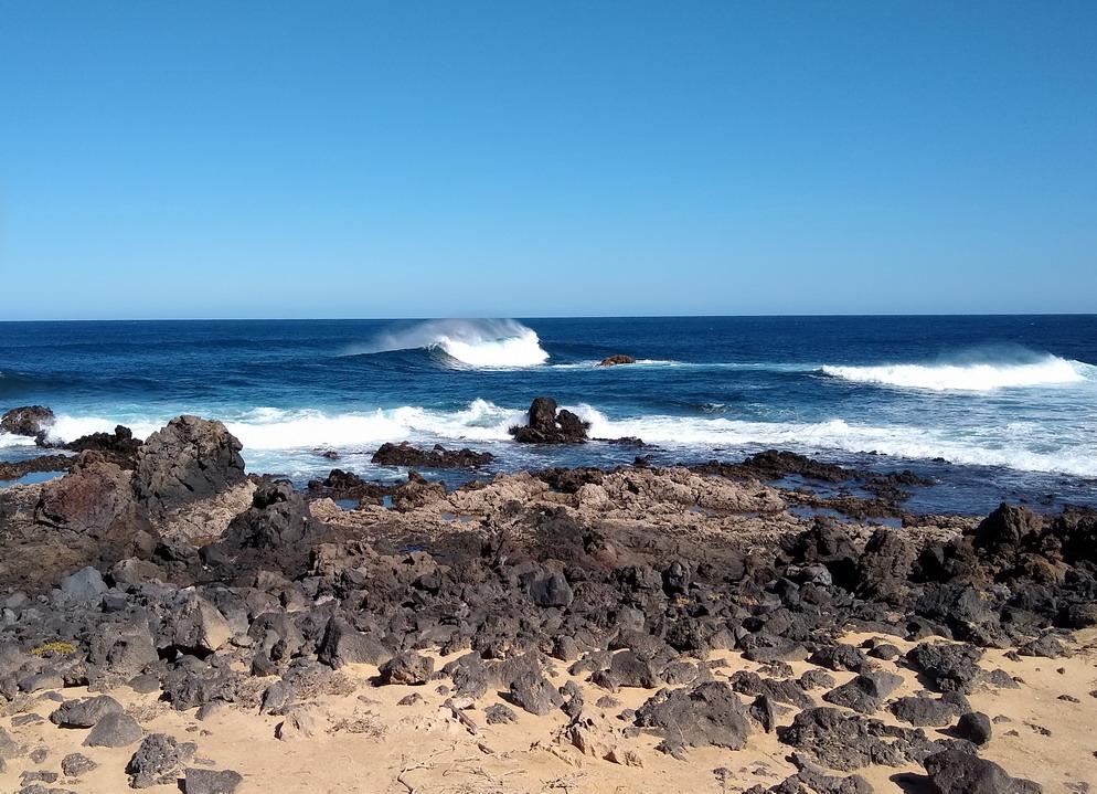 21. La Graciosa - la côte au nord