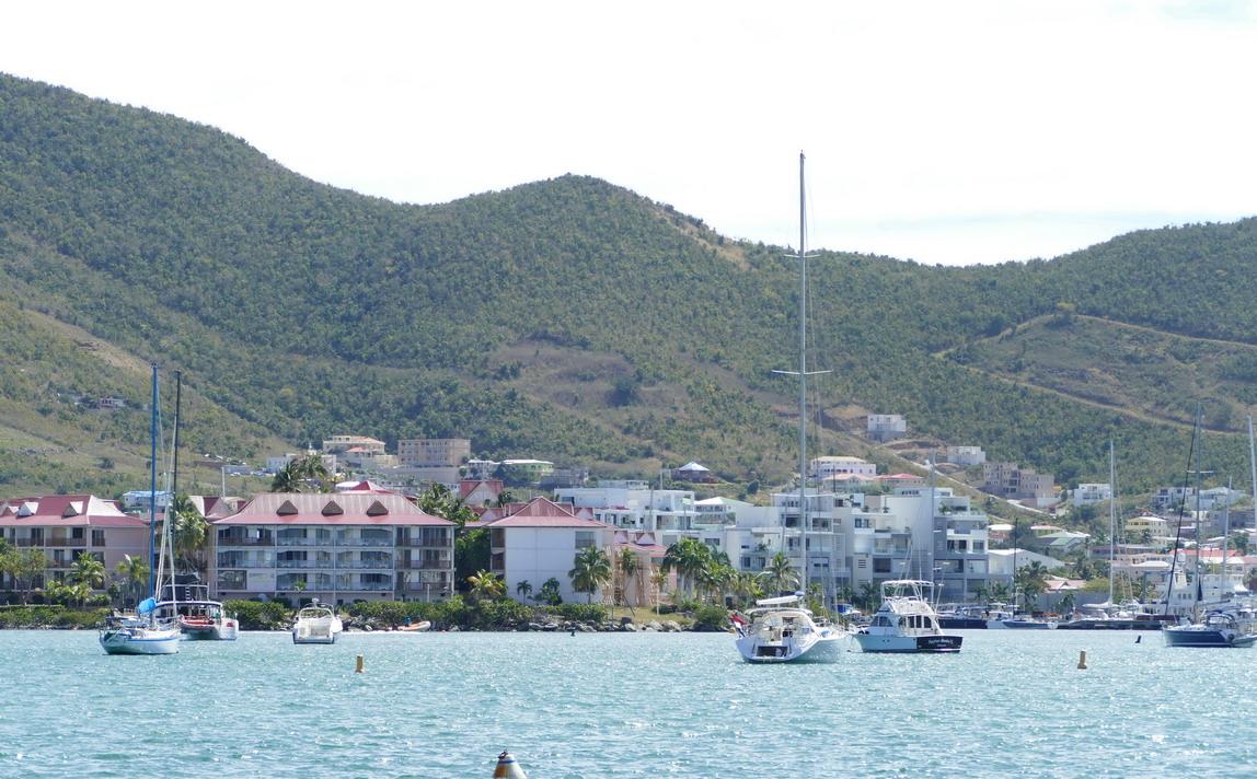 21. Sint Maarten, les mouillages dans Simpson bay lagoon