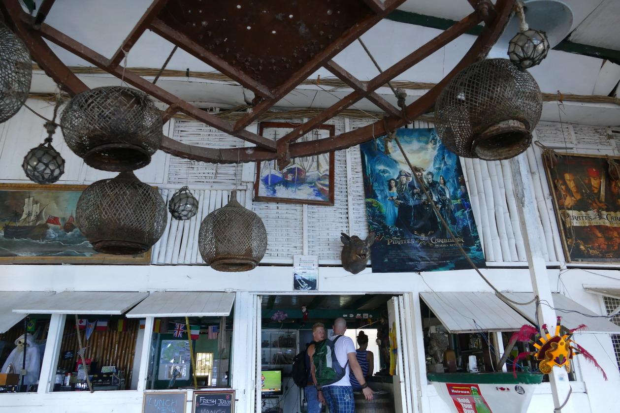 21. Wallilabou, reliques du tournage de Pirate des Caraïbes