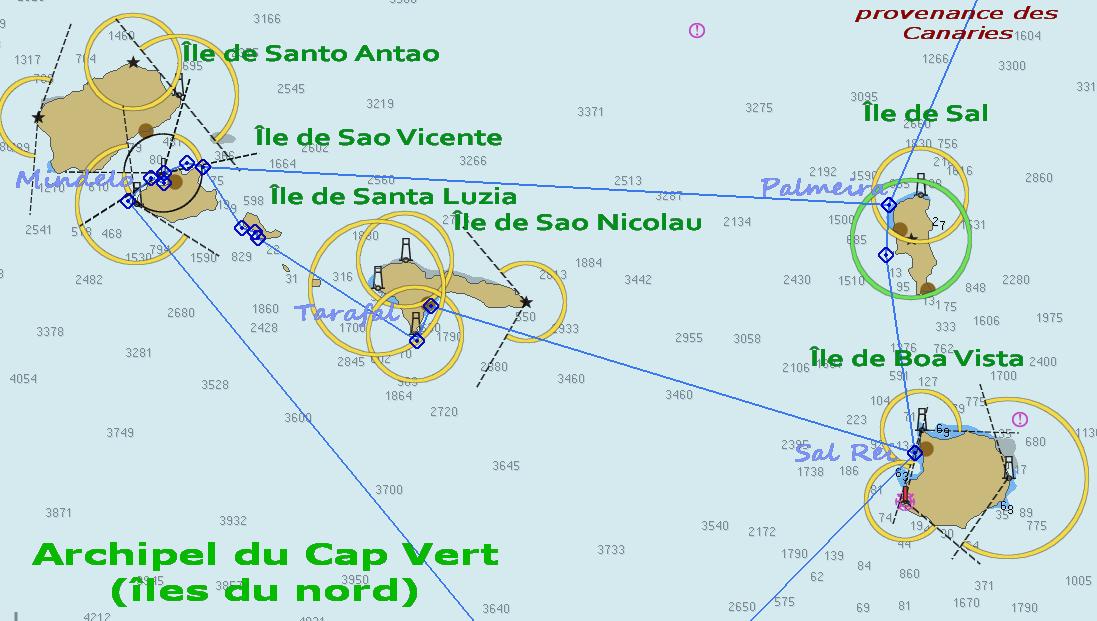 22. Archipel du Cap Vert, îles du nord