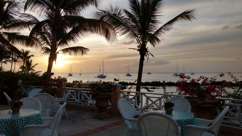 22. Coco reef, le resort en face de notre mouillage