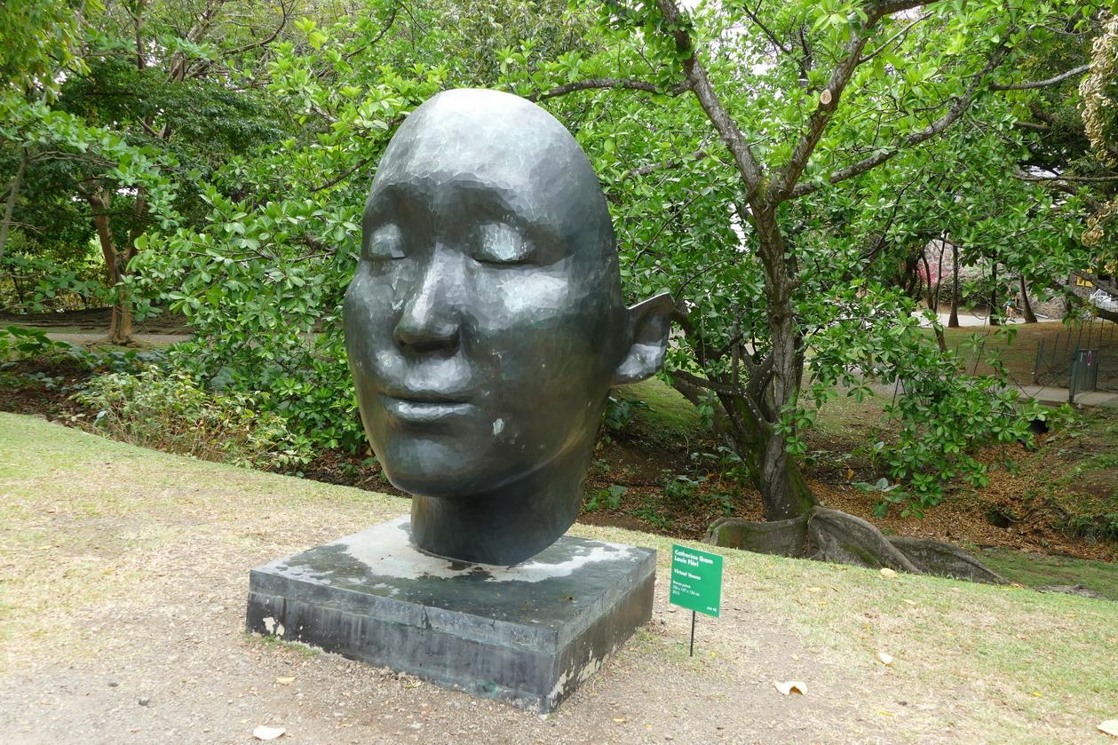22. L'habitation Clément ; Virtual Yoona, sculpture de Catherine Ikam et Luis Fléri