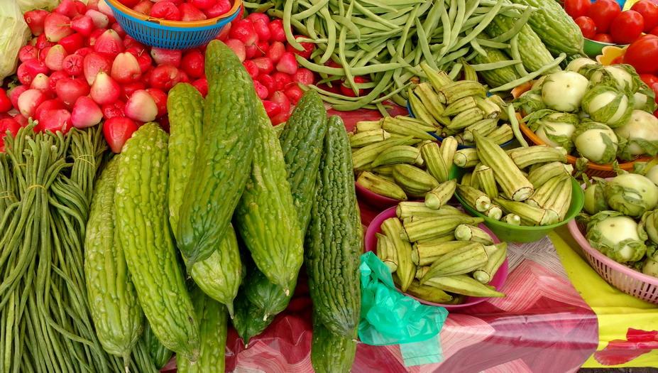 23. St Laurent du Maroni, le marché (le mercredi et le samedi)