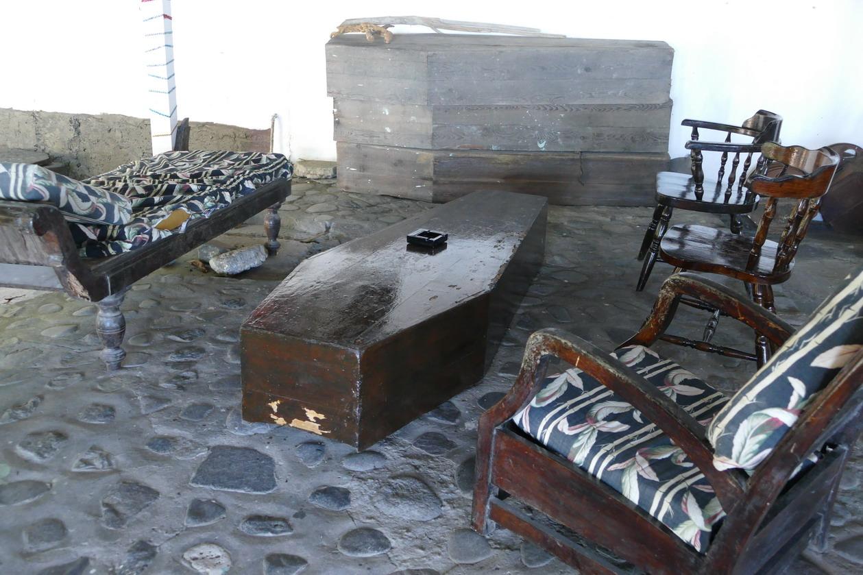23. Wallilabou, reliques du tournage de Pirate des Caraïbes