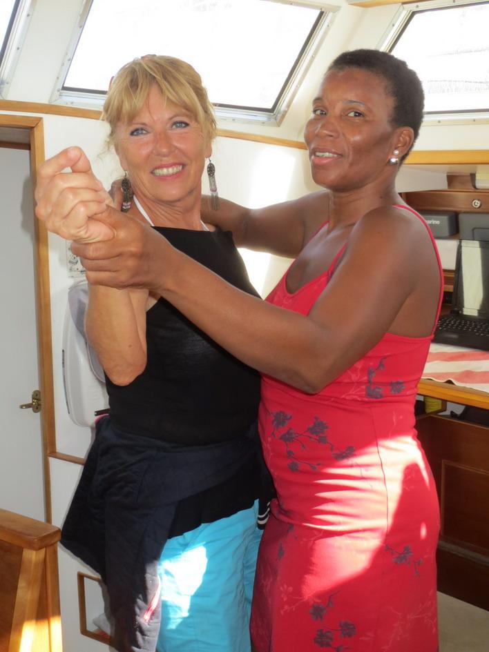 24. Premiers pas de danse capverdienne