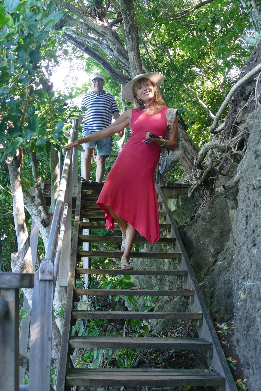 26. Bequia, Admiralty bay, le sentier de la princesse Margaret
