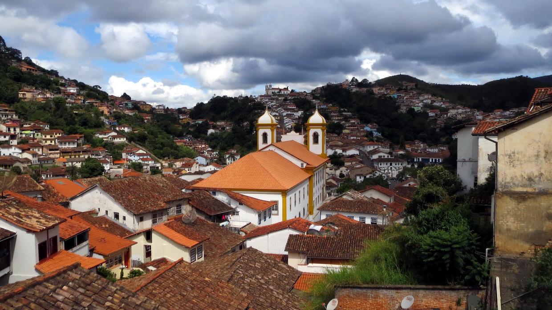 26. Couleurs du soir à Ouro Preto
