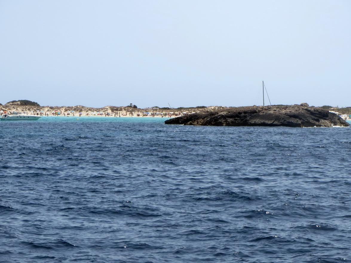 22. Formentera, encore une plage très fréquentée
