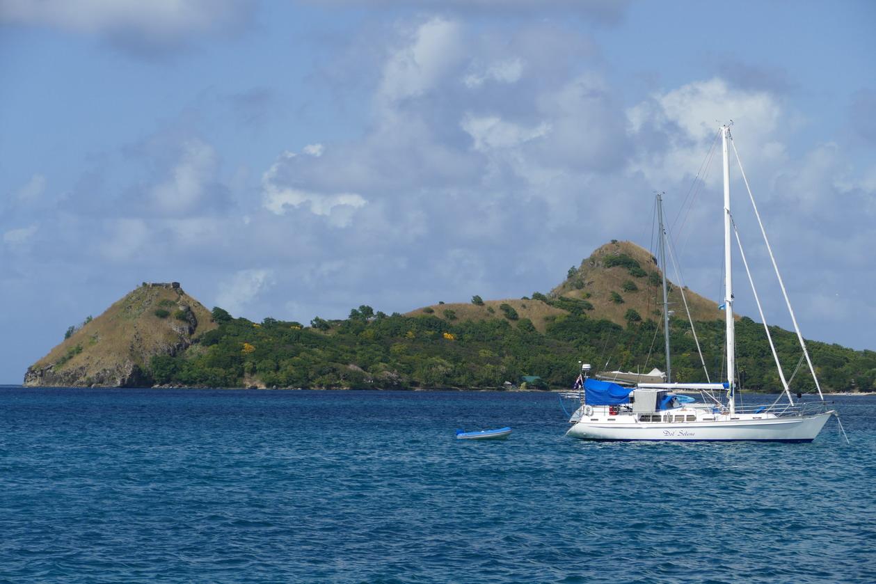28. Ste Lucie, Rodney bay, Pigeon island avec ses 2 bosses