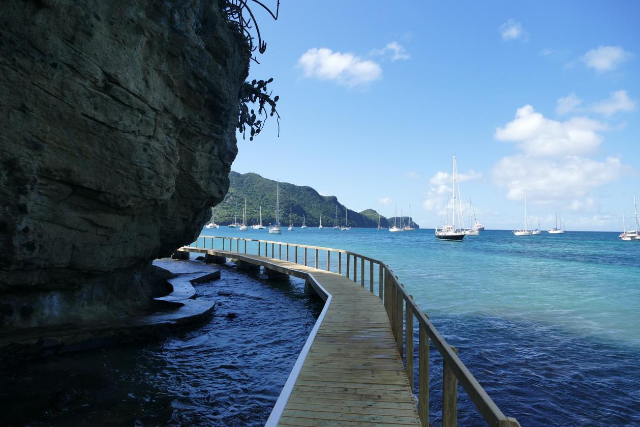29. Bequia, Admiralty bay, le sentier de la princesse Margaret