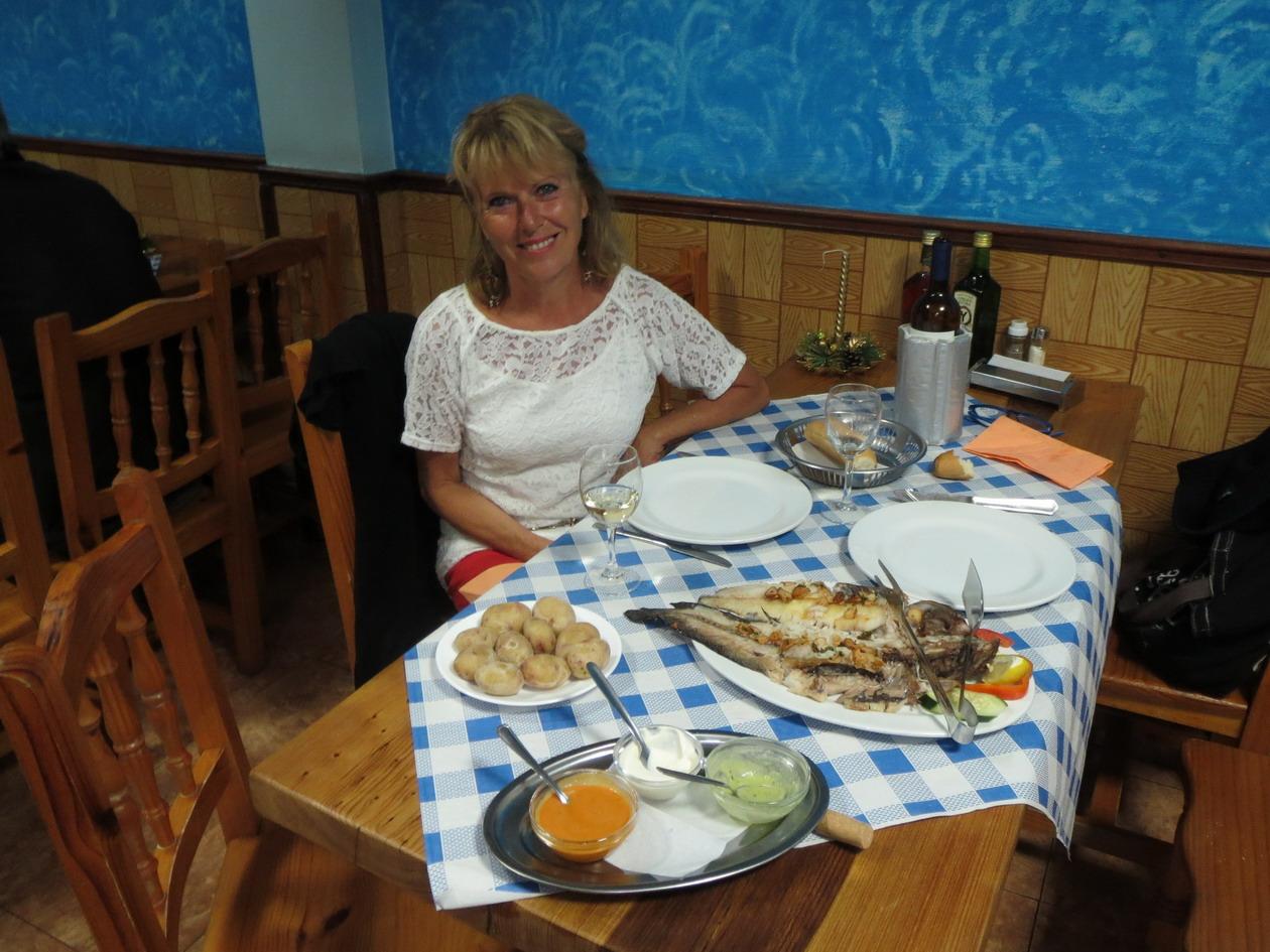 3. Repas de poisson au restaurant