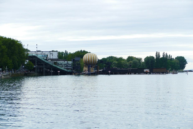 30. Le lac de Constance - Bregenz, la scène nautique des Bregenzer Festspiele