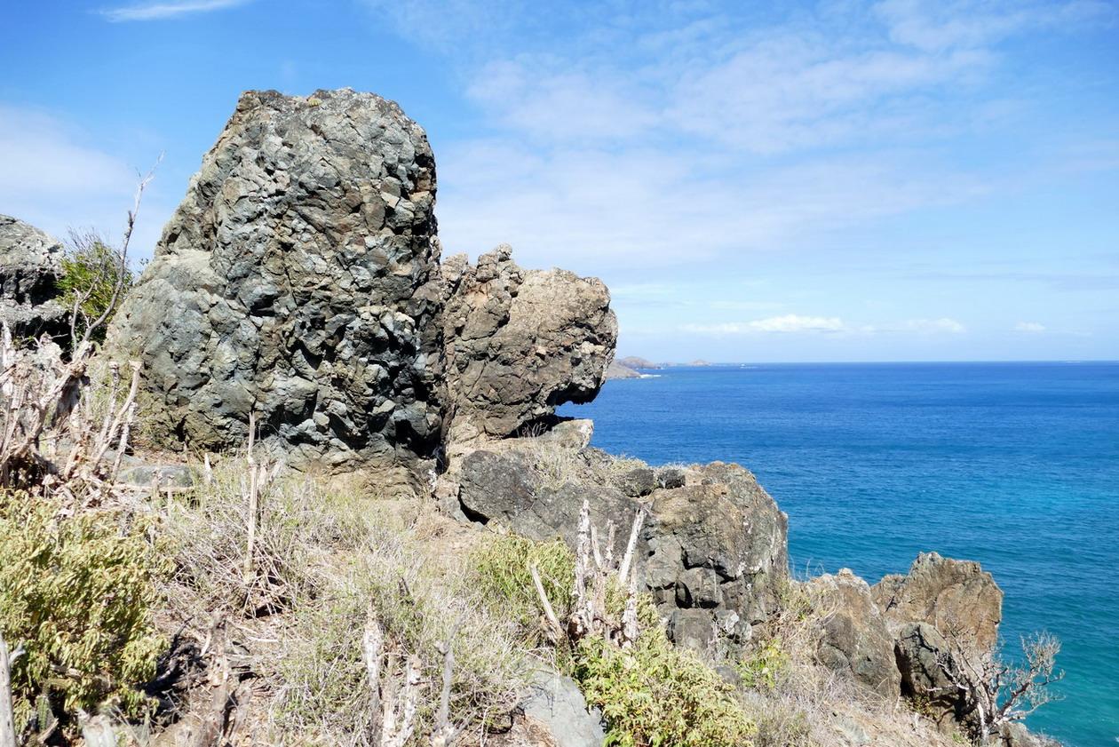 30. St Barth, la côte sauvage au NW