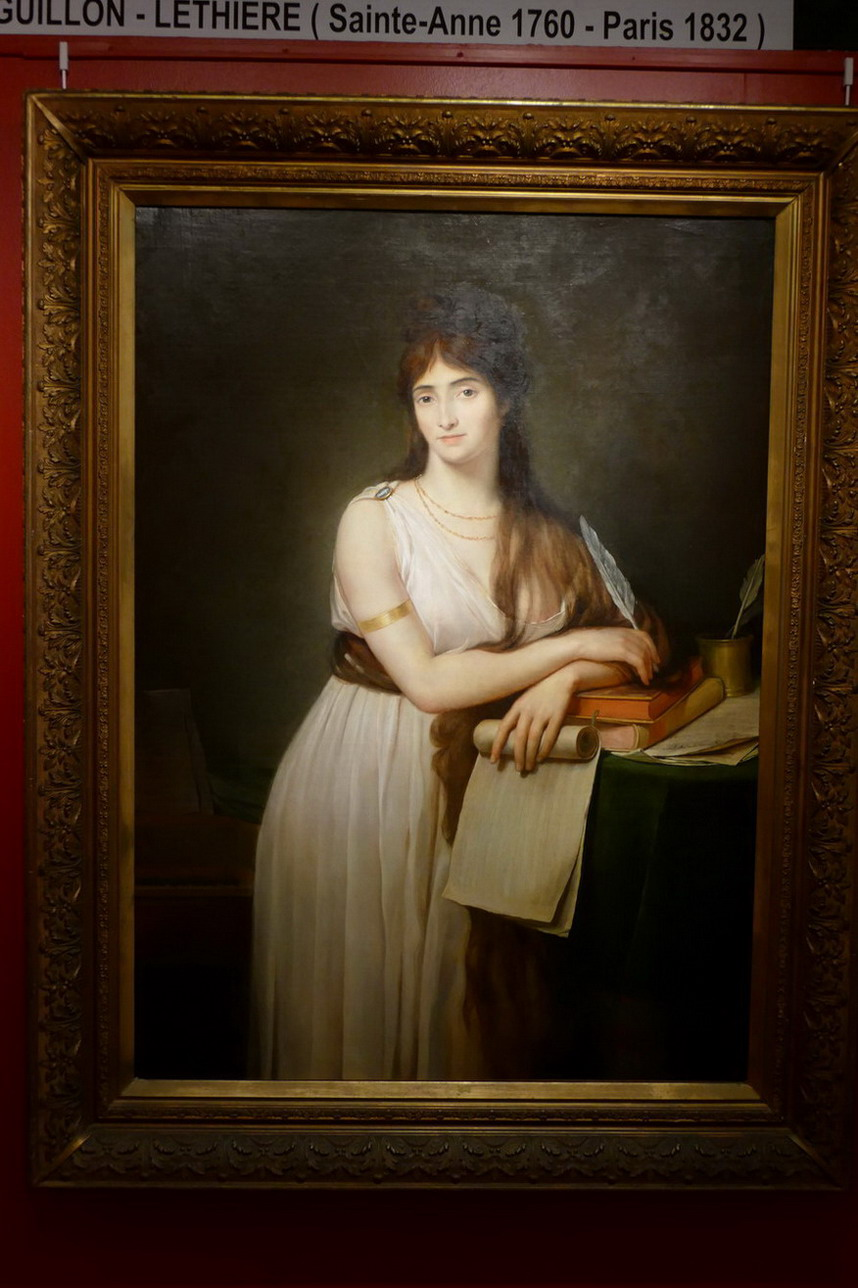 30. St François, le musée des Beaux-Arts, Emma Hamilton