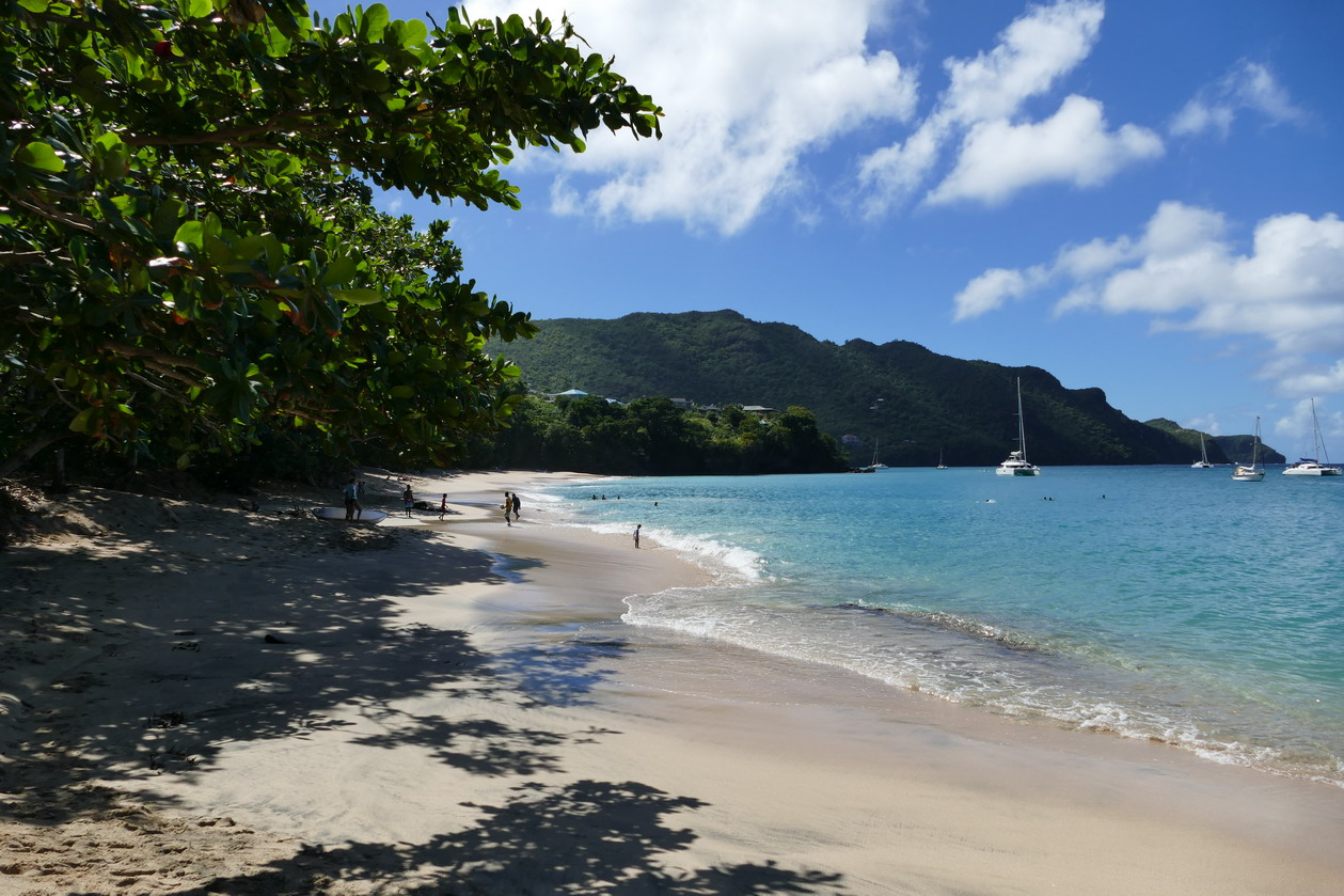 31. Bequia, Admiralty bay, Princess Margaret beach