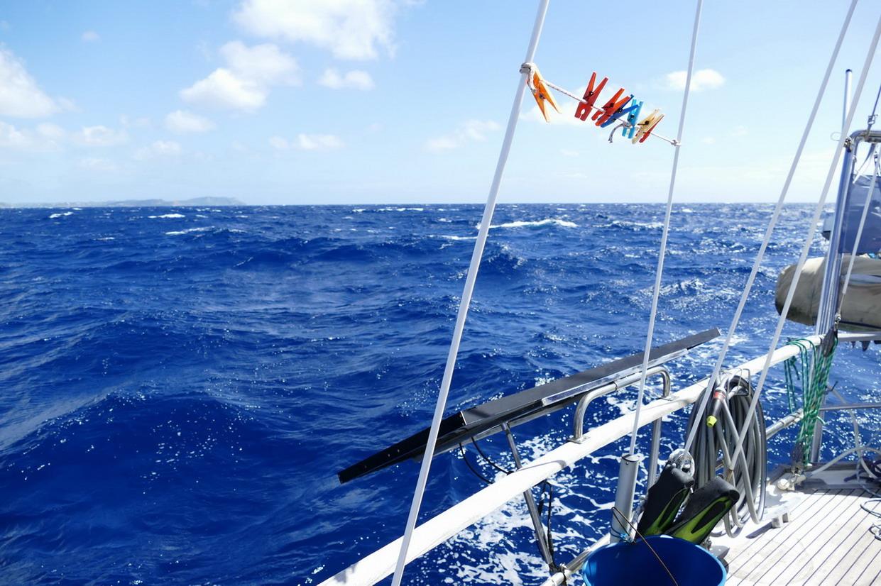 31. La mer est agitée au sud d'Antigua